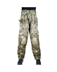 Mil-Tec Warrior Pants - Vegetato Woodland - Front View