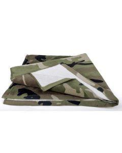 Mil-Tec Woodland Camouflage Bath Towel
