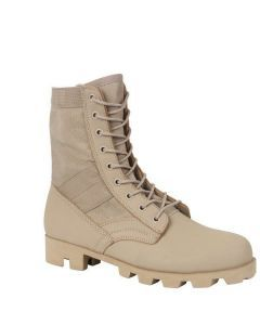 Classic Military Jungle Boots - Desert Tan