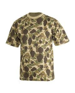 "Pacific Camouflage T-Shirt - Also Referred to as ""Frog Skin"" Camouflage"