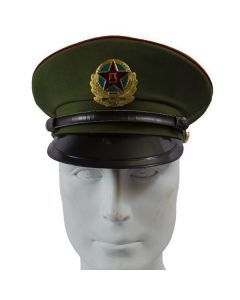 Peoples Liberation Army Enlisted Man Visor - Front View