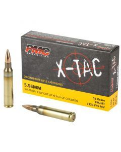 PMC X-Tac 5.56 Ammunition (55gr)