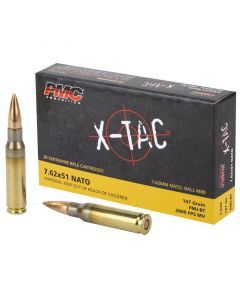 PMC XTAC 762NATO 20 Rounds | 147Gr | Full Metal Jacket | 7.62X