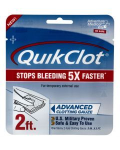 QuikClot Clotting Gauze - 2-feet