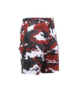 Red Camo BDU Shorts