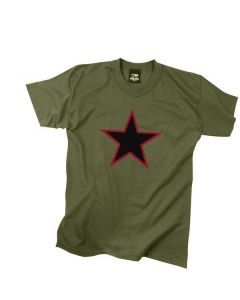 Red China Star Shirt