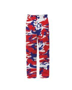 Red White and Blue Camo BDU Pants
