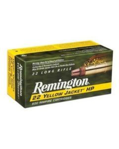 Remington Yellow Jacket .22lr Ammo