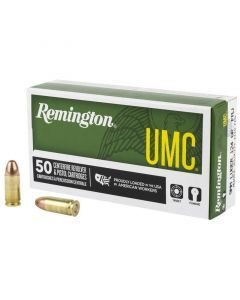 Remington UMC 9mm Ammunition (124 gr)