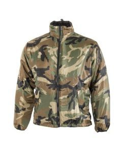 Reversible Thermal Insulated Softie Jacket  - Woodland