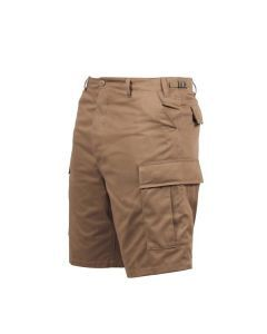 BDU Style Cargo Shorts - Coyote Brown