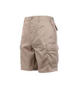 BDU Style Cargo Shorts - Khaki