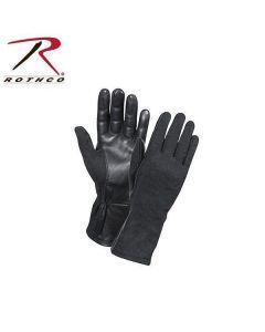 Rothco GI Type Flight Gloves - Fire Resistant Nomex and Leather