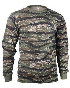 Rothco Long Sleeve Tiger Stripe Camo Shirt