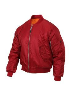 MA-1 Flight Jacket - Red
