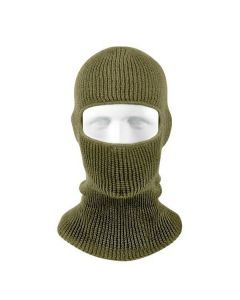One Hole Face Mask - OD Green