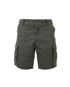 Vintage Paratrooper Cargo Shorts - Olive Drab