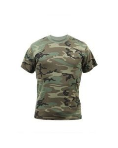 Vintage Camo T-Shirt - Woodland