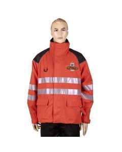 Royal Mail Red HiViz Rain Jacket