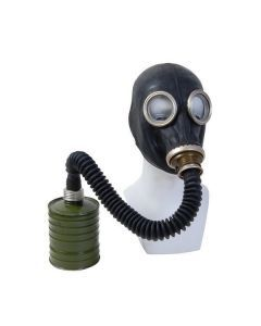 Russian Black GP-5 Gas Mask