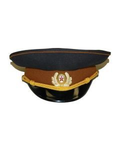 USSR Officers Visor Hat - For Sale