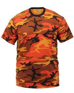 Savage Orange Camo T-Shirt