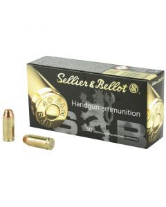 Sellier & Bellot Pistol 40 S&W 50 Rounds | 180Gr | Full Metal Jacket | SB40B