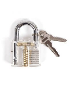 See-Thru Visible Locksmith Training Padlock