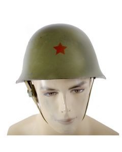 Serbian Army Helmet - Red Star