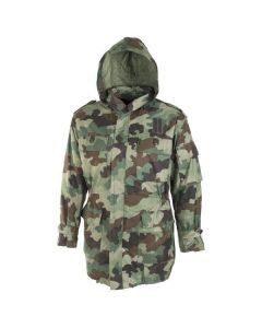 Serbian Army Winter Camouflage Parka