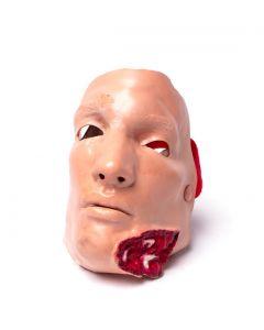 Shrapnel Wound Lower Jaw Mask