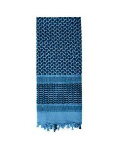 Shemagh Desert Scarf - Black / Blue