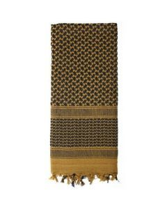 Shemagh Desert Scarf - Coyote Brown