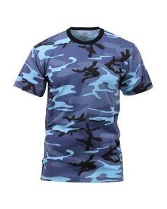 Sky Blue Camo T-Shirt