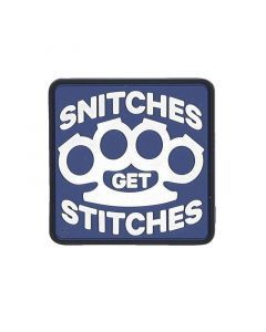 Snitches Get Stitches Morale Patch