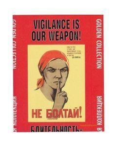KGB Propaganda Poster Set – Twenty-Four Propaganda Prints from the KGB