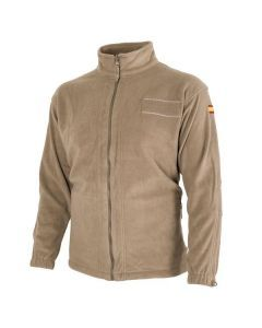 Spanish Army Coyote Fleece Jacket