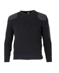 Spanish Military Police Commando Sweater - Black