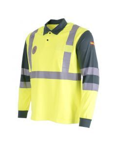 Spanish Police HiViz Traffic Operations Polo