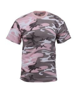 Subdued Pink Camo Shirt