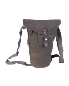 Swedish Military Gas Mask Bag – WWII-Era Gas Mask  Bag