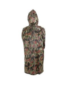 Swiss Army Camo Wet Weather Poncho