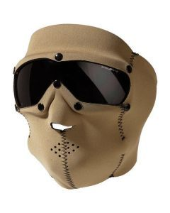 Swiss Eye SWAT Mask - Coyote - Smoke