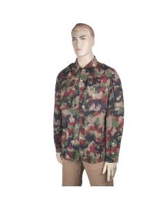 Swiss M83 Field Jacket – Featuring the Alpenflage Camouflage Pattern