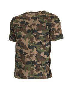 Swiss Army Woodland Camo T-Shirt