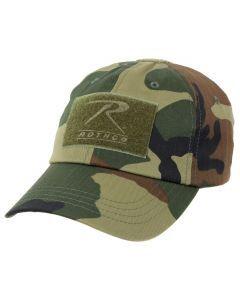 Rothco Tactical Operator Cap - Woodland Camo