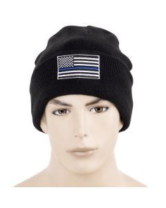 Thin Blue Line Watch Cap - Support Police and Law Enforcement