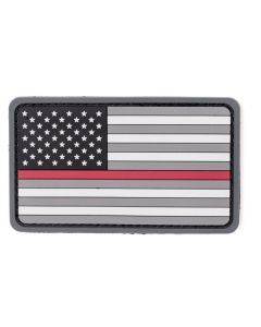 Thin Red Line US Flag Morale Patch