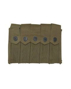 USGI Thompson Magazine Pouch – Authentic USGI Pouch, Carries Five 20-Round Thompson Magazines
