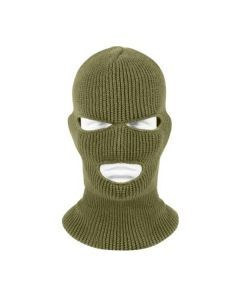 Three Hole Face Mask - Olive Drab